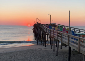 Fishing at the Nags Head Pier – a great way to start and end the day!